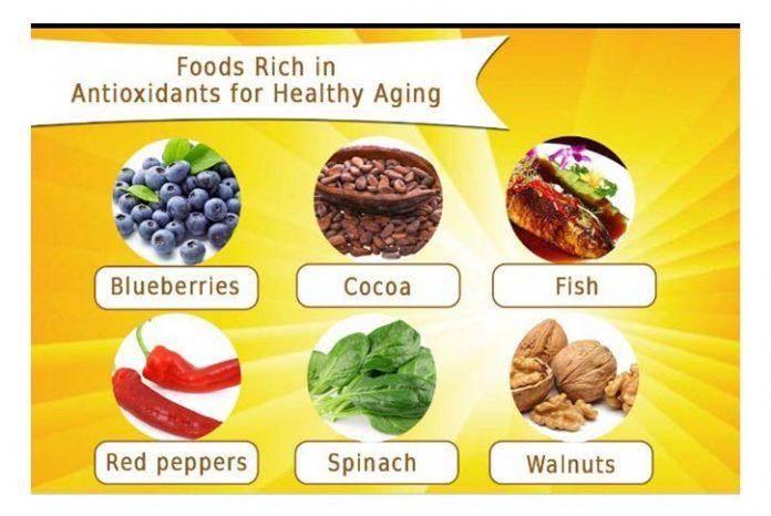 Foods Rich in antioxidants